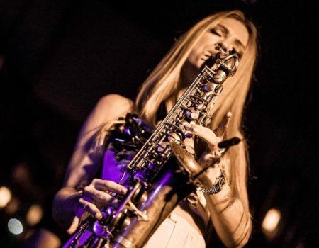 Fotografia de directo saxofon